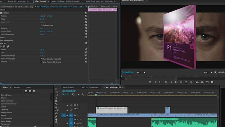 Анимация с Premiere Pro