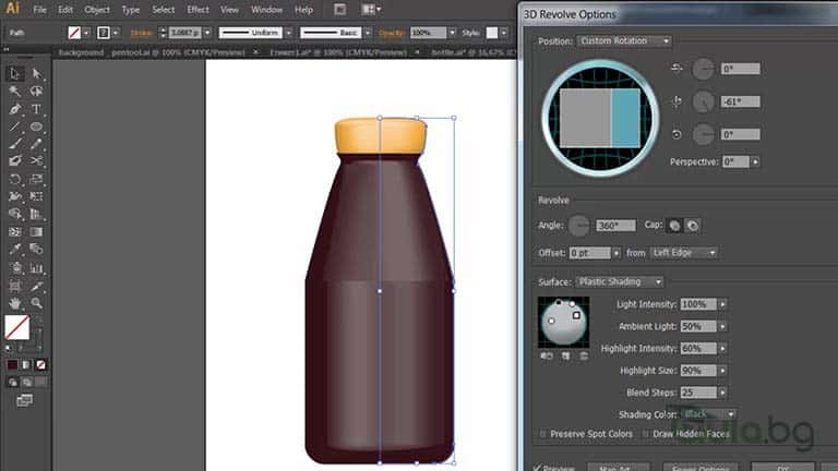 3D в Illustrator