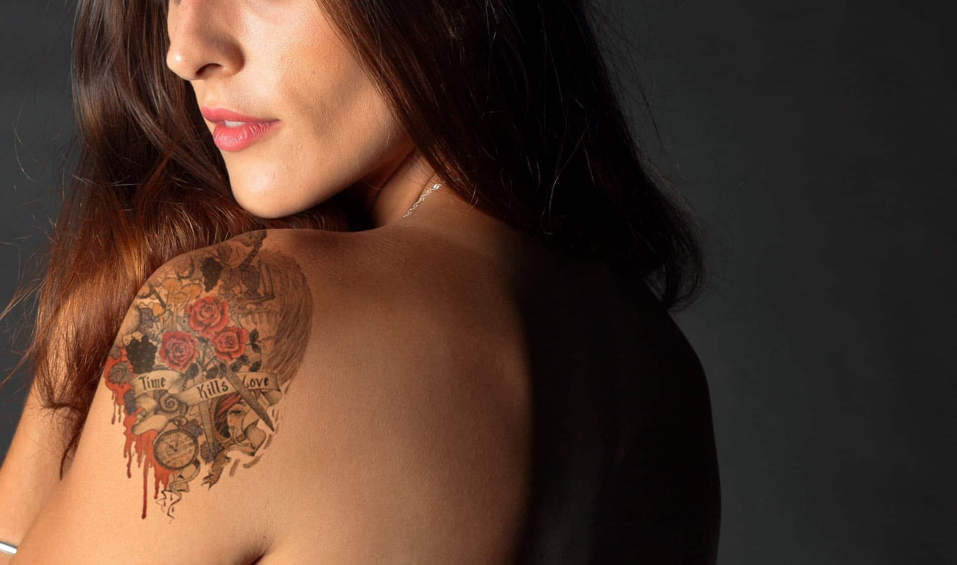 Как да поставим татуировка във Photoshop